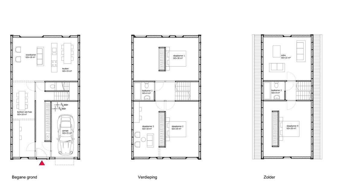 De-Zaanse-Eilanden-Model-3-nunc-architecten-plattegronden