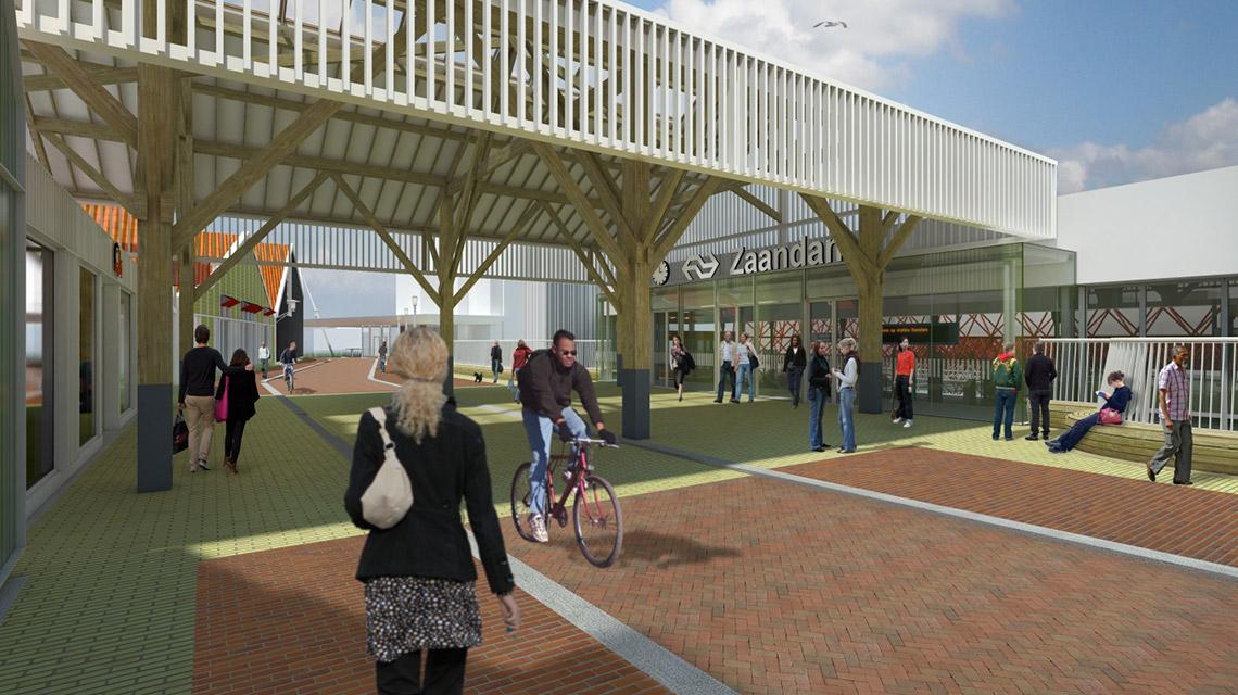 ZSO-spooroverbouwing-Zaandam-2-entreegebied-Nunc-Architecten