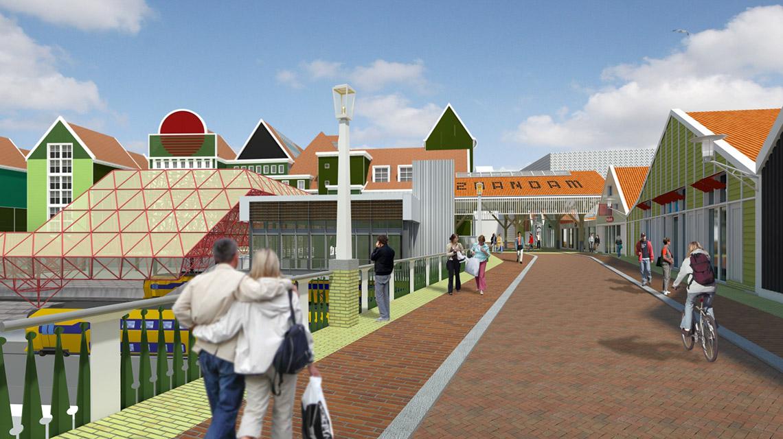 ZSO-spooroverbouwing-Zaandam-3-vanaf-westkant-small-Nunc-architecten
