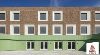 IKC Het Zaanplein (Roggeplein) wint Babel Architectuurprijs